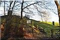 NT5632 : Reservoir near Eildon village by Jim Barton