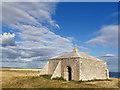 SY9675 : St Aldhelm's Chapel, St Aldhelm's Head, Worth Matravers by Phil Champion