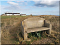 SY9575 : Memorial bench near St Aldhelm's Head, Worth Matravers by Phil Champion