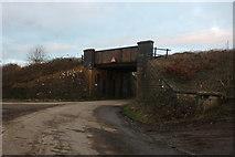 ST9068 : Railway bridge on Wick Lane near Lacock by David Howard