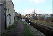 SE1115 : Lock 11E, Huddersfield Narrow Canal, Milnsbridge by habiloid