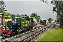 SS6846 : Woody Bay Station by Ian Capper