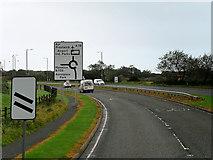 NS3428 : A79 near Monkton by David Dixon