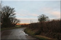 ST9068 : Lanes End between Gastard and Lacock by David Howard