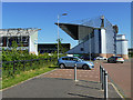 NS9080 : Falkirk Stadium from the north by Stephen Craven