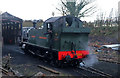 SK3706 : GWR prairie on shed at Shackerstone by Chris Allen