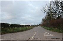 ST8969 : Lane off Corsham Road, Thingley by David Howard