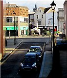 SS7597 : Street view from Neath railway station by Jaggery