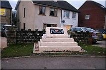 ST9172 : The Eddie Cochran Memorial on Rowden Hill, Chippenham by David Howard