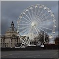 ST1876 : Big wheel in Cardiff by Philip Halling