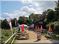 SZ0382 : Middle Beach Cafe, Studland by Phil Champion