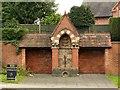 SK6142 : Lady Carnarvon's Fountain, Gedling by Alan Murray-Rust