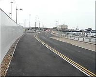 TR3140 : New Marina Curve Road by John Baker