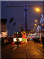 SD3035 : Illuminated Tram Parade, Blackpool by David Dixon