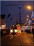SD3035 : Illuminated Tram Parade, Blackpool by David Dixon