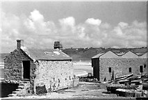 SW3526 : Sennen Cove, 1948 by David M Murray-Rust