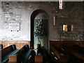SZ0382 : North doorway - Church of St Nicholas, Studland by Phil Champion