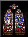 SO6056 : Window inside St. Andrew's Church (Bell Tower | Bredenbury) by Fabian Musto
