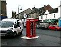 NS6573 : K6 telephone kiosk by Richard Sutcliffe
