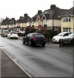 SO6302 : Cars and houses, Oxford Street, Lydney by Jaggery