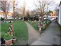 TQ2865 : Community garden in Hackbridge by Malc McDonald