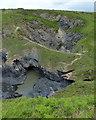 SN1045 : Pwll-y-Wrach at Cwm Pen-wern by Mat Fascione
