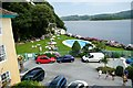 SH5837 : View towards the swimming pool at Portmeirion by Jeff Buck