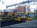ST3088 : Track replacement equipment (1), Newport Station by Robin Drayton