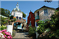 SH5837 : Towards the Pantheon at Portmeirion by Jeff Buck