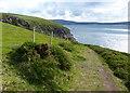 SN0542 : Pembrokeshire Coast Path at Trwyn y Bwa by Mat Fascione