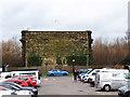 SE2933 : End of the viaduct Wellington Place, Leeds by Stephen Craven