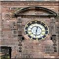 SJ8398 : St Ann's clock by Gerald England