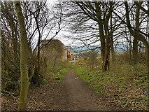 SE2526 : Footpath off Bruntcliffe Road, Morley by Stephen Craven