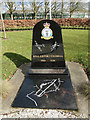 TG2523 : A memorial plaque to R.A.F. Coltishall by Adrian S Pye