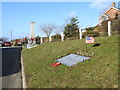 TG4101 : WW2 mid-air bomber collision memorial, Reedham by Adrian S Pye