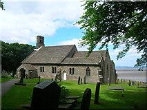 SD4161 : St Peter's  Church, Heysham by John H Darch
