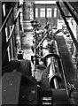 SK2083 : Messrs Carbolite, Bamford Mills - steam engine by Chris Allen