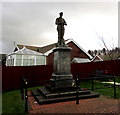 SN8109 : Grade II Listed Seven Sisters War Memorial by Jaggery