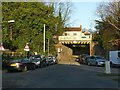 SK6242 : Wood Lane railway bridge by Alan Murray-Rust