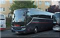 SX9164 : German coach, Torquay coach station by Derek Harper