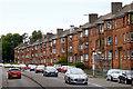 NS5267 : Scotstounhill, Dumbarton Road by David Dixon