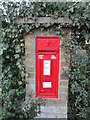 TF0205 : Victorian post box, Wothorpe Hill by Jonathan Thacker