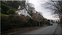 SO5074 : Houses by Whitcliffe Common (Ludlow) by Fabian Musto