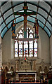 SS4919 : The chancel of the church of St Michael & All Angels, Torrington by Roger A Smith