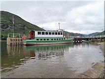 NY3916 : M.Y. Lady Wakefield on Ullswater by Steve Daniels
