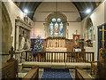 SP0743 : St James, Badsey - Sanctuary by John Salmon