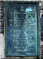 SS7597 : Great War Memorial plaque, Neath by Jaggery