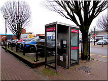 SS7597 : Windsor Road phoneboxes, Neath by Jaggery