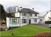 J4844 : Doris Pharmacy and Opticians in St Patrick's Avenue, Downpatrick by Eric Jones