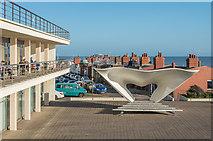 TQ7407 : Bandstand, De La Warr Pavilion by Ian Capper